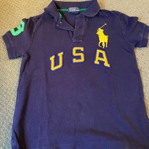 KIDS large pony RL polo size 7